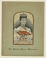Woven Portrait, Her Majesty Queen Alexandra, 1901 (CH 18730011).jpg