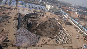 Wuhan Greenland Center main tower site.JPG