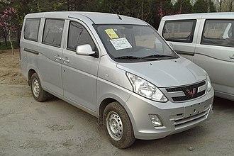 Wuling Motors - Image: Wuling Hongguang V China 2015 04 15