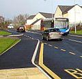 X24 bus, Avondale Road, Pontypool - geograph.org.uk - 4321655.jpg