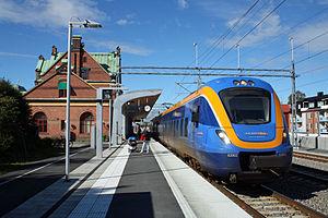 Umeå Central Station - Image: X62 Umeaa C 2012
