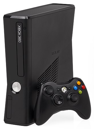 Seventh generation of video game consoles - Image: Xbox 360S Console Set