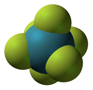 Xenon hexafluoride chemical compound