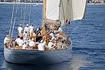 Yacht Cambria détail, Régates de Nice 2010.JPG
