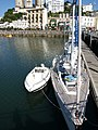 Yacht in Torquay Harbour - geograph.org.uk - 822743.jpg