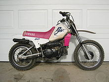 A Yamaha Kids Bike For Slightly Ger