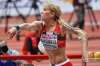 Belarusian heptathlete