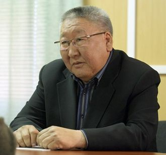 Indigenous peoples of Siberia - President of the Republic of Sakha (Yakutia) Yegor Borisov in 2010
