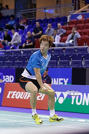 Kim Sa-rang (badminton) - Kim Sa-rang at the 2013 French Super Series.