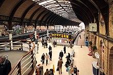 Bureau de change york station paddington station london uk