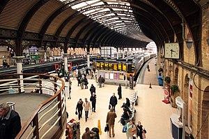 York station rush hour