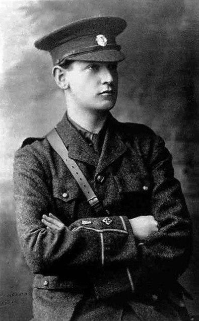 Young Michael Collins Portrait