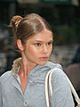 Young woman -unidentified model at Mercedes-Benz Fashion Week.jpg