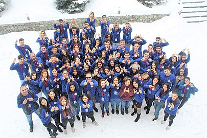 Youth Winter WikiCamp 2019, Tsaghkadzor, Wikimedia Armenia 01.jpg
