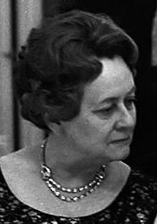 Yvonne de Gaulle en 1968.
