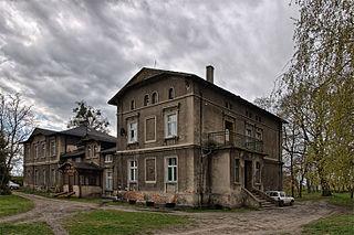 Zbrudzewo Village in Greater Poland Voivodeship, Poland