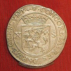 Zeeland, tien stuiver 1613, Middelburg