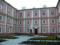 Zespół seminaryjny budynek 01 dziedziniec - Janów Podlaski powiat bialski woj. lubelskie ArPiCh A-202.JPG