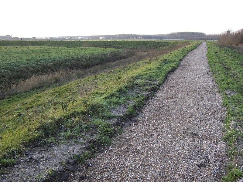 File:Zicht op fort, onderdeel van de Staats-Spaanse linies uit de Tachtigjarige Oorlog, gezien vanaf de openbare weg,--Archeoregio 14, AMK-terrein 67H-006 - Axel - 20425788 - RCE.jpg
