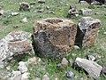 Zoravar (Gharghavank) Monastery, Graveyard3.JPG