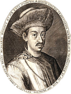 Sigismund Báthory Prince of Transylvania, Wallachia, and Moldavia, Prince of the Holy Roman Empire, Count of the Székelys and Lord of Parts of the Kingdom of Hungary