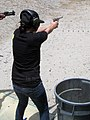 Zuly and the Ruger Mark II..jpg