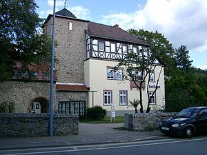 Zwingenberg, Hesse - Zwingenberg's town hall