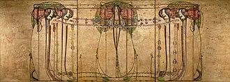 """Margaret Macdonald Mackintosh - Image: """"The May Queen"""" de Margaret Macdonald (Glasgow) (3803689322)"""