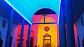 """ 14 - ITALY - Dan Flavin in Milan - Chiesa di Santa Maria Annunciata in Chiesa Rossa church - LED lightning - color emotion - colorful.jpg"