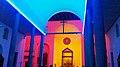 """ 14 - ITALY - Dan Flavin in Milan - Chiesa di Santa Maria Annunciata in Chiesa Rossa church - LED lightning - color emotion - colorful.jpg"
