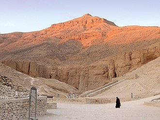 Valley of the Kings - Al-Qurn dominates the valley.