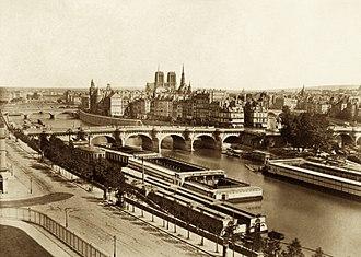 Édouard Baldus - Image: Édouard Baldus, Panorama de la Cité, circa 1860