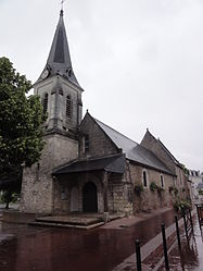 The church of Saint-Symphorien, in Chambray-lès-Tours
