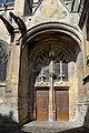 Église Sainte-Trinité de Falaise. Vue du portail sud.jpg