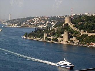 İDO - A Seabus and the Rumeli Castle