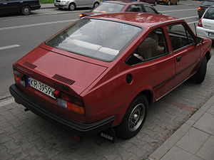 Škoda Rapid (1984) - Image: Škoda Rapid 136 5 speed in Kraków (1)