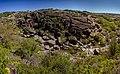 Арбузинські скелі на р.Арбузинка біля с.Актове. Panorama 4.jpg
