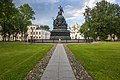 Великий Новгород, памятник Тысячелетию России.jpg