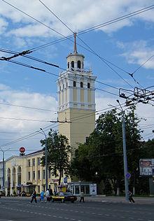 Водонапорная башня диаметр гомель