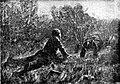 Иллюстрация к рассказу «Четыре дня». (Рисунок худ. Дубровского.).jpg