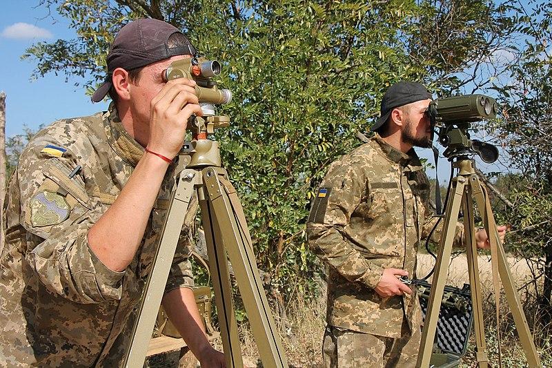 На одному з полігонів Херсонщини відбулись збори артилеристів (вересень 2016).