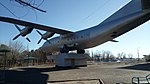 Памятник самолёту Ан-12 (Байконур).jpg