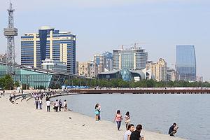 Baku Boulevard - Baku boulevard today