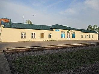 Inzhavinsky District - Train station in Inzhavino, Inzhavinsky District