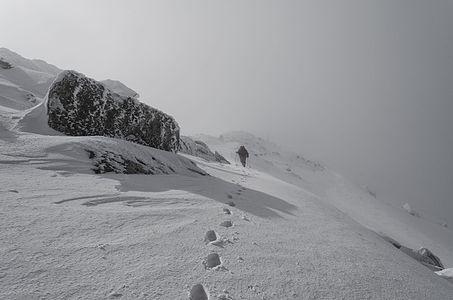 Winter scene near Pelister (2,601 m)