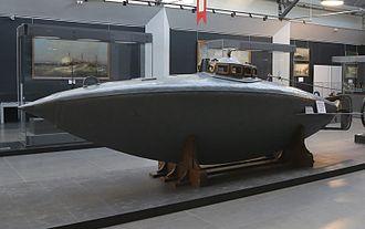 Central Naval Museum - Dzhevetskiy submarine