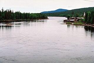 Kovda River river in Russia