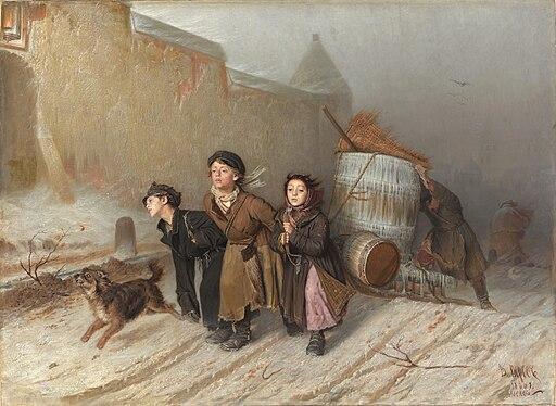 Тройка - Василий Григорьевич Перов (1866)
