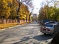 Тула. Проезд Тимирязева. Слева - забор Всехсвятского кладбища - 09-10-2008г. - panoramio.jpg