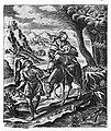 Уцёкі ў Егіпет. (з кнігі Rosarium...), 1672-1677 гг..jpg